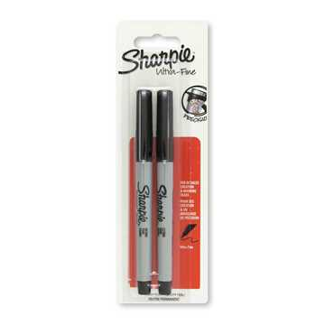 Picture of Sharpie Ultra Fine Point Markers (2 Items) - Black