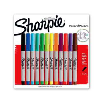 Picture of Sharpie Ultra Fine Point Markers (12 Items)