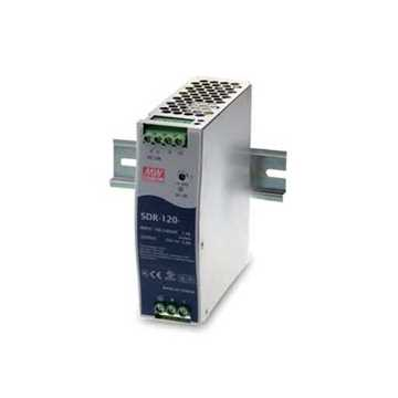 Picture of DTS Power Supply DIN Rail SDR-120-24