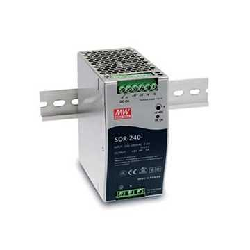 Picture of DTS Power Supply DIN Rail SDR-240-48