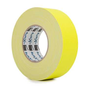 Picture of Le Mark MagTape Xtra Matt Tape - Fluorescent Yellow