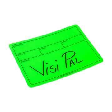Picture of Le Mark Visi-PAL Label - Fluorescent Green