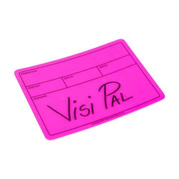 Picture of Le Mark Visi-PAL Label - Fluorescent Pink