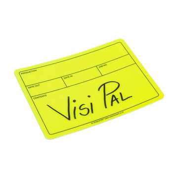Picture of Le Mark Visi-PAL Label - Fluorescent Yellow