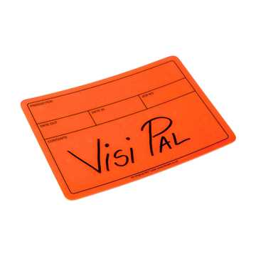 Picture of Le Mark Visi-PAL Label - Fluorescent Orange