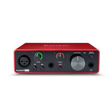 Picture of Focusrite Scarlett Solo 3nd Generation