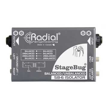 Picture of Radial SB-6 Stagebug Isolator