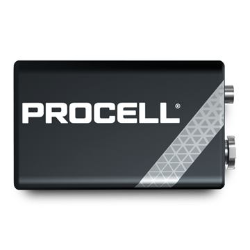 Picture of Duracell Procelll 6LR61 Batteries (10 Items)