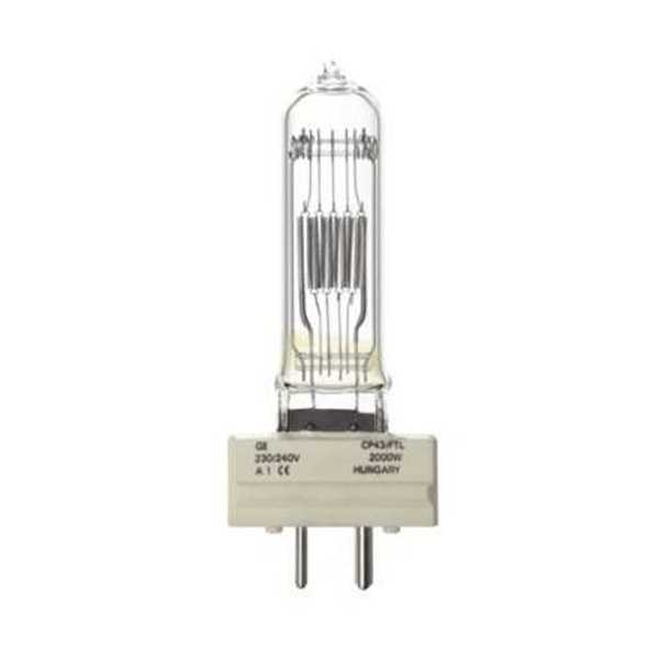 Picture of Tungsram 93106536 CP43 Halogen Lamp 2000W